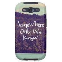 Somewhere Samsung Galaxy Phone Case from Zazzle.com