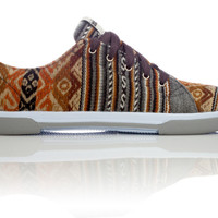 INKKAS Phuyupata Shoes | Handmade in South America - London Sky Low Top | INKKAS Phuyupata Shoes | Tribal & Aztec Shoes