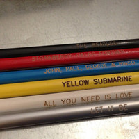The Beatles Pencil Set