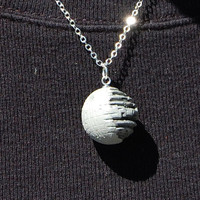 Give Yourself to the Darkside - Star Wars Death Star Necklace