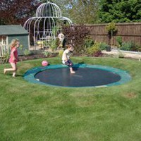 How to create a sunken trampoline - little green fingers