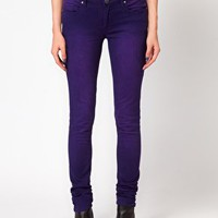 Blank NYC Purple Skinny Jeans