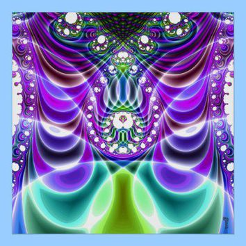 Extra-dimensional Undulations V 4  Poster from Zazzle.com