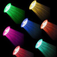 Multiple Color LED Shower