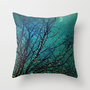 magical night Throw Pillow by Sylvia Cook Photography | Society6