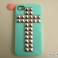 IPhone 4 Case, Silver Cross Pyramid.. on Luulla