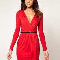 ASOS | ASOS Wrap Dress With Belt at ASOS