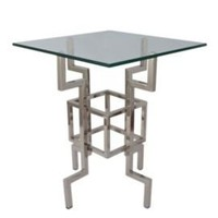 One Kings Lane - Geometric Chic - Links Accent Table
