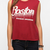 Truly Madly Deeply Boston Wicked Awesome Muscle Tee
