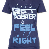 Feel All Right T-Shirt: Soul-Flower Online Store