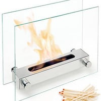 Apollo Tabletop Fireplace Designed by Wolf Wagner for Carl Mertens - Pure Modern Design Contemporary Accessories