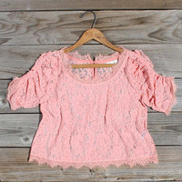 Desert Lace Blouse, Sweet Bohemian Clothing
