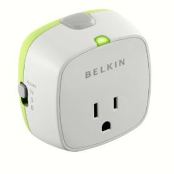 Belkin Conserve Socket F7C009q Energy-Saving Outlet