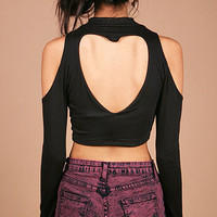 Heartbeat Crop Top | Crop Tops at Pink Ice