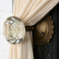 Door Knob Curtain Tie-Back-
