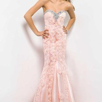 Blush Dress 9582 at Peaches Boutique