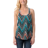 Empyre Girls Casey Tribal Print Racerback Tank Top
