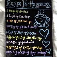 Recipe For Happiness- Acrylic Painting