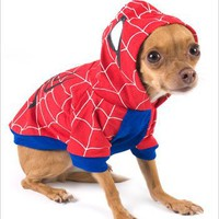 Spider-Dog Costume for Dogs - Size 1 (8