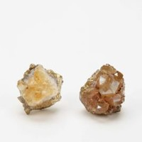 UrbanOutfitters.com &gt; Cavern Crystal Post Earring