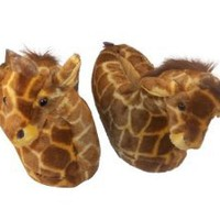 Happy Feet - Giraffe - Animal Slippers:Amazon:Shoes