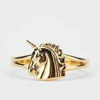 Urban Outfitters - Diament Jewelry for Urban Renewal Vintage Unicorn Ring