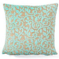 One Kings Lane - Tourance - Granada Pillow, Ocean
