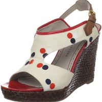 Marc by Marc Jacobs Gommone 615994 Fabric Dot Wedge - designer shoes, handbags, jewelry, watches, and fashion accessories | endless.com