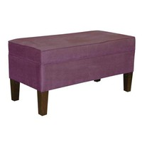 Storage Bench Premier Purple Skyline Furniture Mfg Storage Benches Accent & Storage Benc
