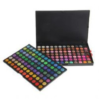 Professional 168 Colors Compact Shimmering Eye Shadows Palette Makeup Kit Cosmetics Box