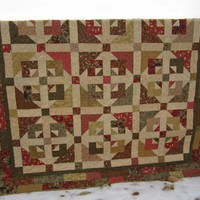 Patchwork Quilt Pieced Quilt Scrappy Comfort