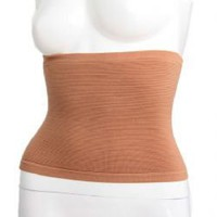 M Size Skin Color Calorie Off Massage Slimming Sharper Waist Belt