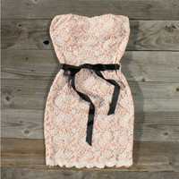 Ribbons &amp; Lace Party Dress, Sweet Women&#x27;s Country Clothing