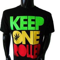 My Associates Store - Wiz Khalifa Keep One Rolled Mens T-Shirt