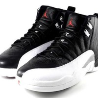 My Associates Store - NIKE AIR JORDAN 12 RETRO PLAYOFFS MENS 130690-001