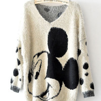 Mickey Mouse Cartoon Ma Haimao Sweater