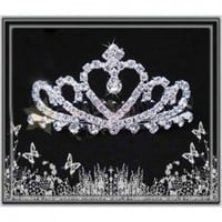 Hot Sale Low Price Delicate Rhinestone Embellished Imperial Crown For Bride China Wholesale - Sammydress.com