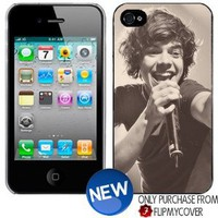 Amazon.com: ONE DIRECTION Harry Styles Singing iPhone 4 4s Plastic Hard Phone Cover Case: Everything Else