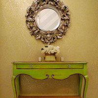 Zesty Lime Green Console - Sweetpea & Willow London