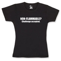 ThinkGeek :: Non-Flammable Babydoll
