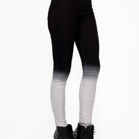dip-dye-skinny-jeans CHARCOAL - GoJane.com