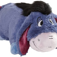 My Pillow Pets Authentic Disney Eeyore Folding Plush Pillow, 18-Inch