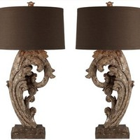 Aidan Gray | Brighton/Hove Table Lamp Set-L82 SET