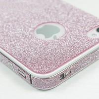 ShinyPink Rhinestone Fashion Sticker For iPhone 4S/5