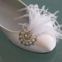 Hollywood Glam Bridal Ballet Flats by BeholdenBridal on Etsy