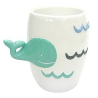 Allure Home Creations Whale Watch Resin Tumbler