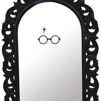 Harry Potter insipred mirror decal by Walkingdeadpromotion on Etsy