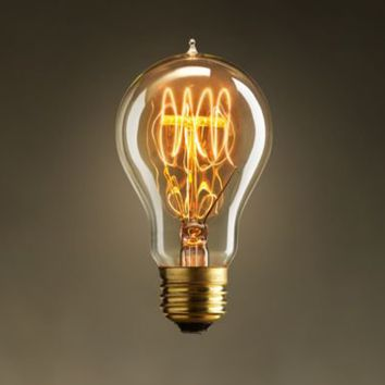 Exposition Quad-Loop Filament Bulb | Lightbulbs | Restoration Hardware