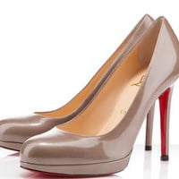Christian Louboutin New Simple 120mm Leather Pumps [2011120801] - $186.00 : Christian Louboutin Shoes Sale, Enjoy 77% Off On Designer Outlet