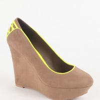 Qupid Worthy Wedge Heels at PacSun.com
